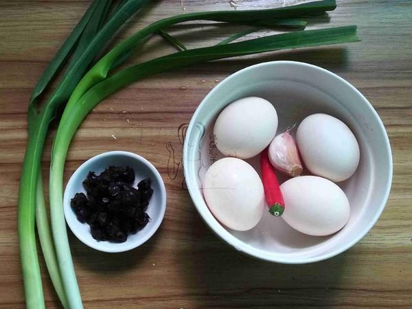 豆豉炒荷包蛋的做法大全