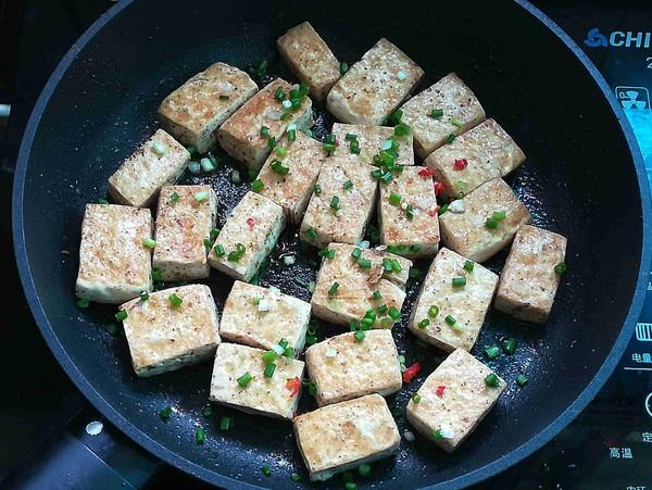 椒盐豆腐怎么炒