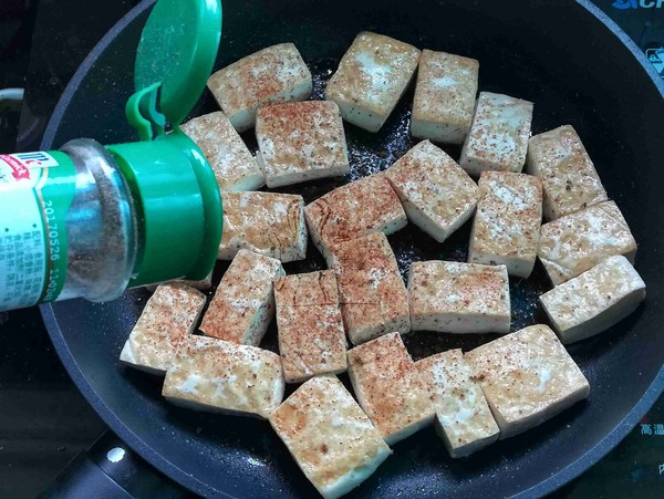 椒盐豆腐怎么做