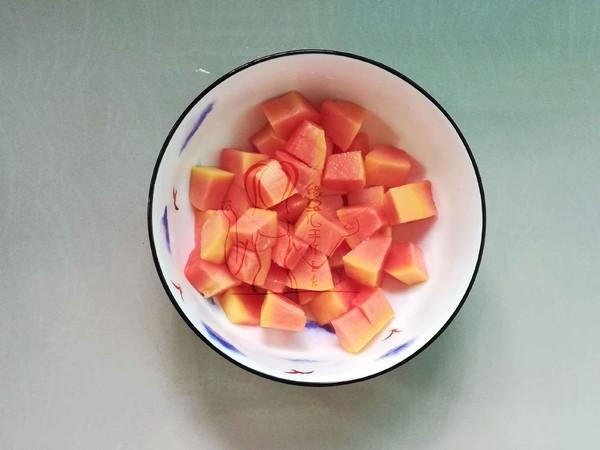 木瓜银耳百合汤怎么吃