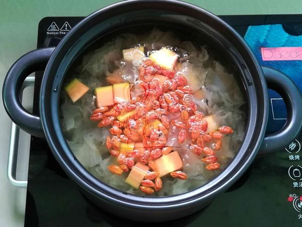 木瓜银耳百合汤怎么做