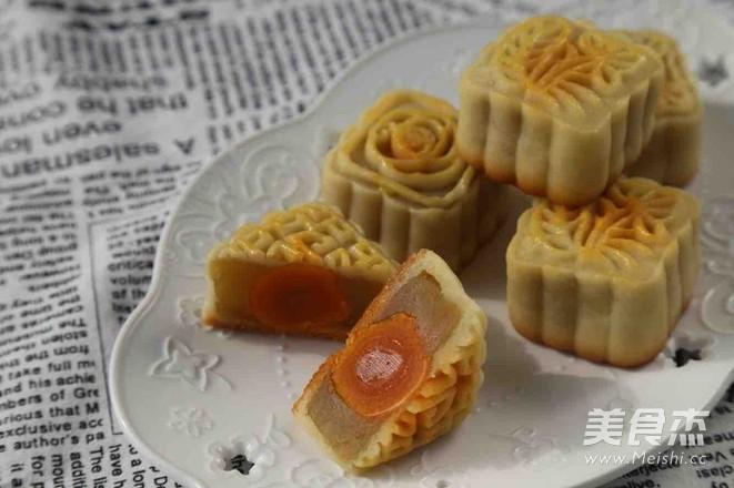 木糖醇广式月饼成品图