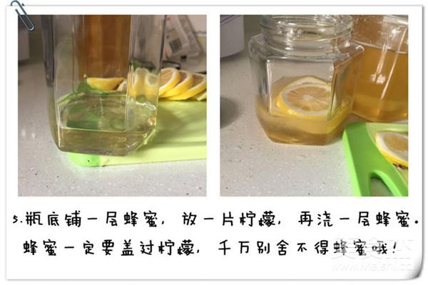自制美容柠檬蜂蜜怎么做