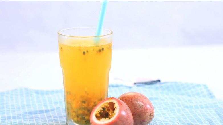 百香果蜂蜜茶成品图