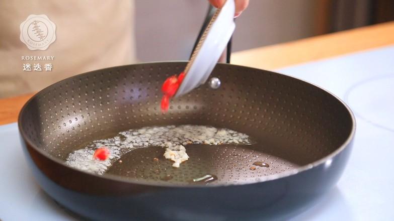 肉末豆芽炒粉条的简单做法