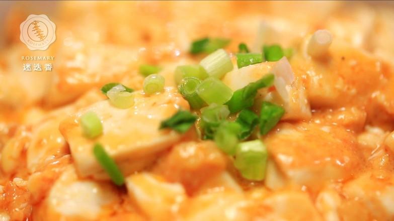 """""""蟹黄""""豆腐怎么做"""