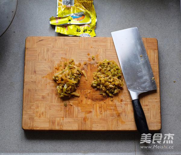 平底锅版榨菜鲜肉月饼的简单做法