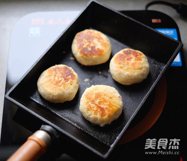 平底锅版榨菜鲜肉月饼的制作大全