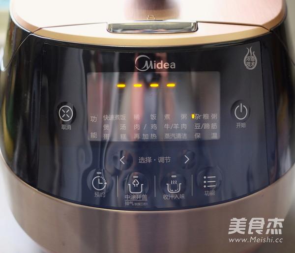 电压力锅版八宝粥的简单做法