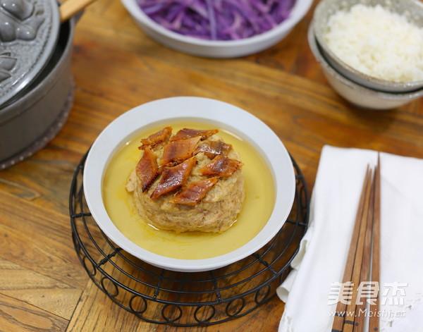 咸鱼鲞蒸肉饼成品图