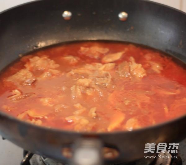 番茄牛腩面怎么煮