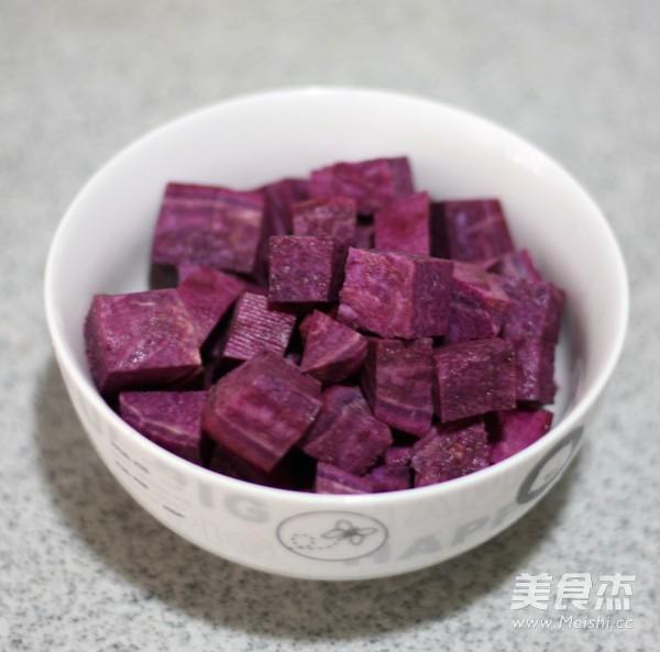 皂角米紫薯银耳羹怎么吃