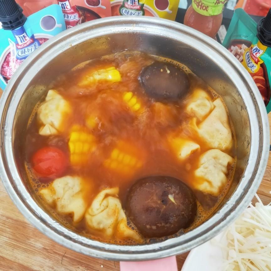 素食火锅的家常做法