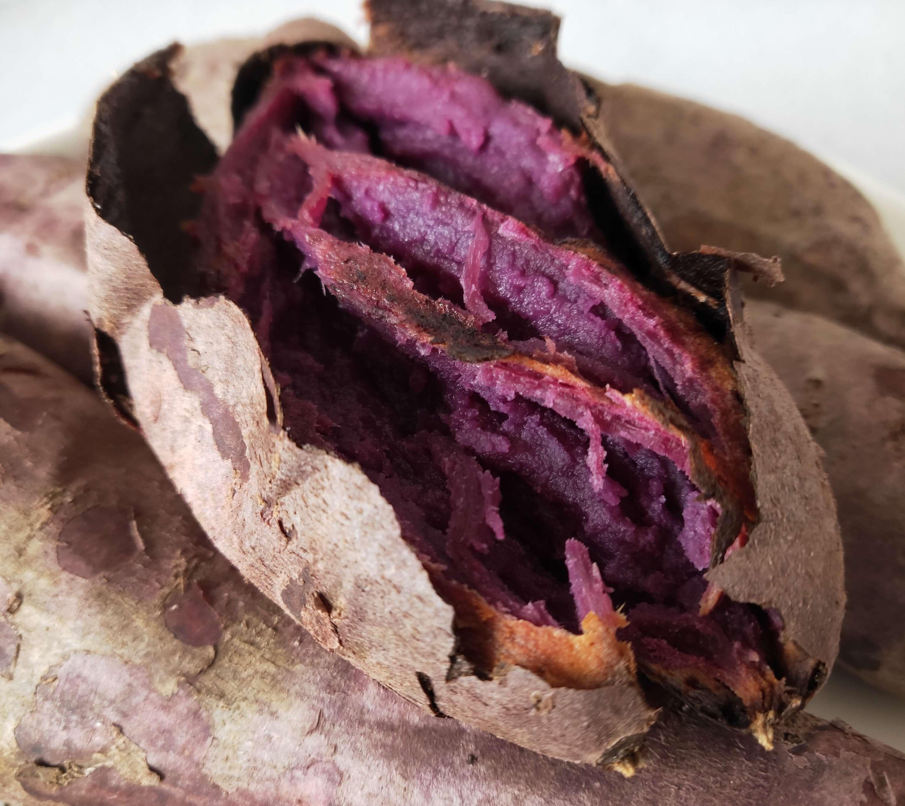 烤紫薯的简单做法