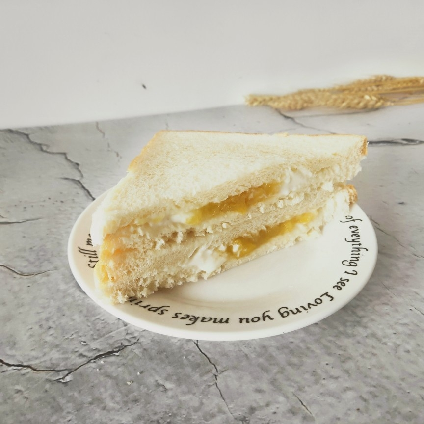 酸奶三明治怎么做