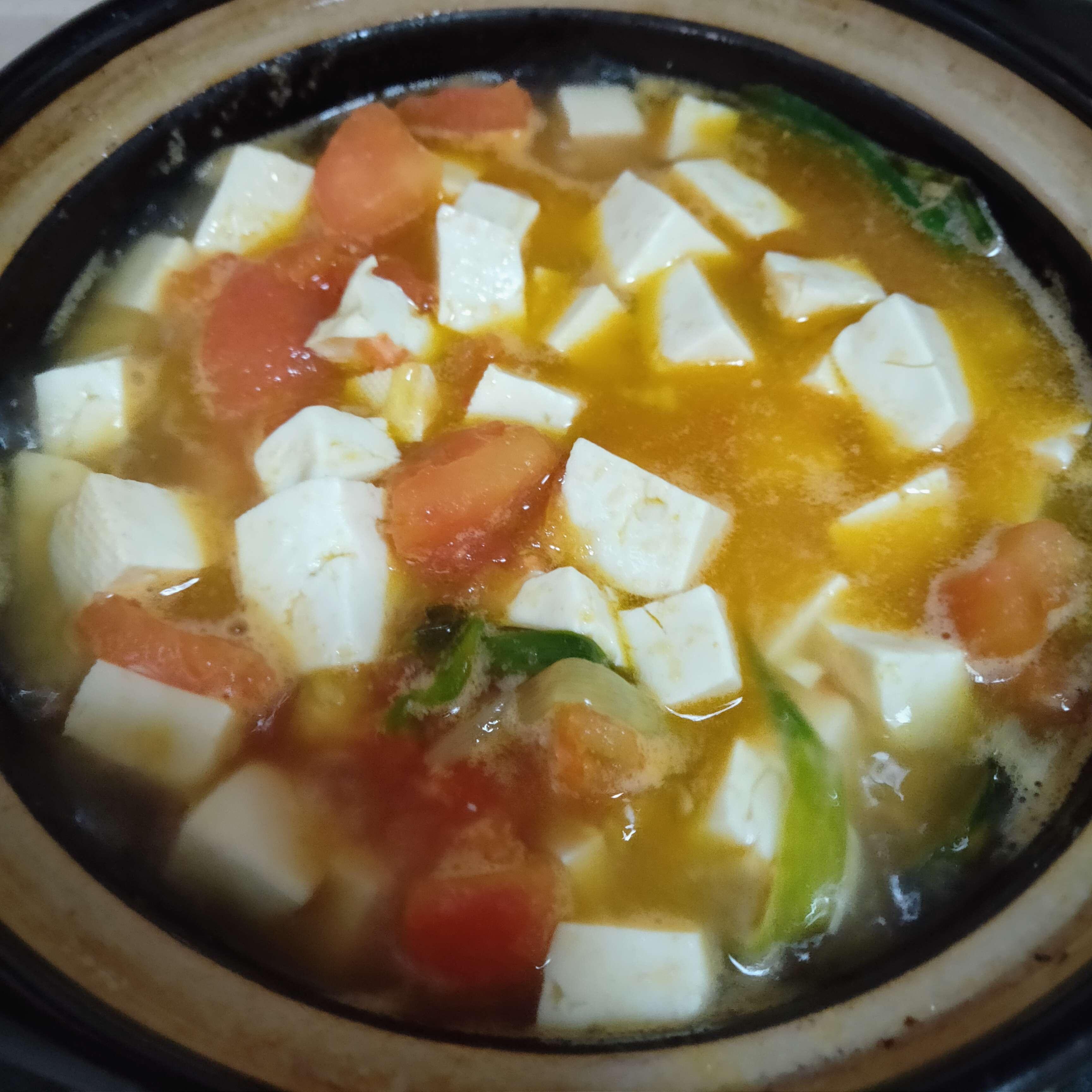 番茄豆腐汤怎么做