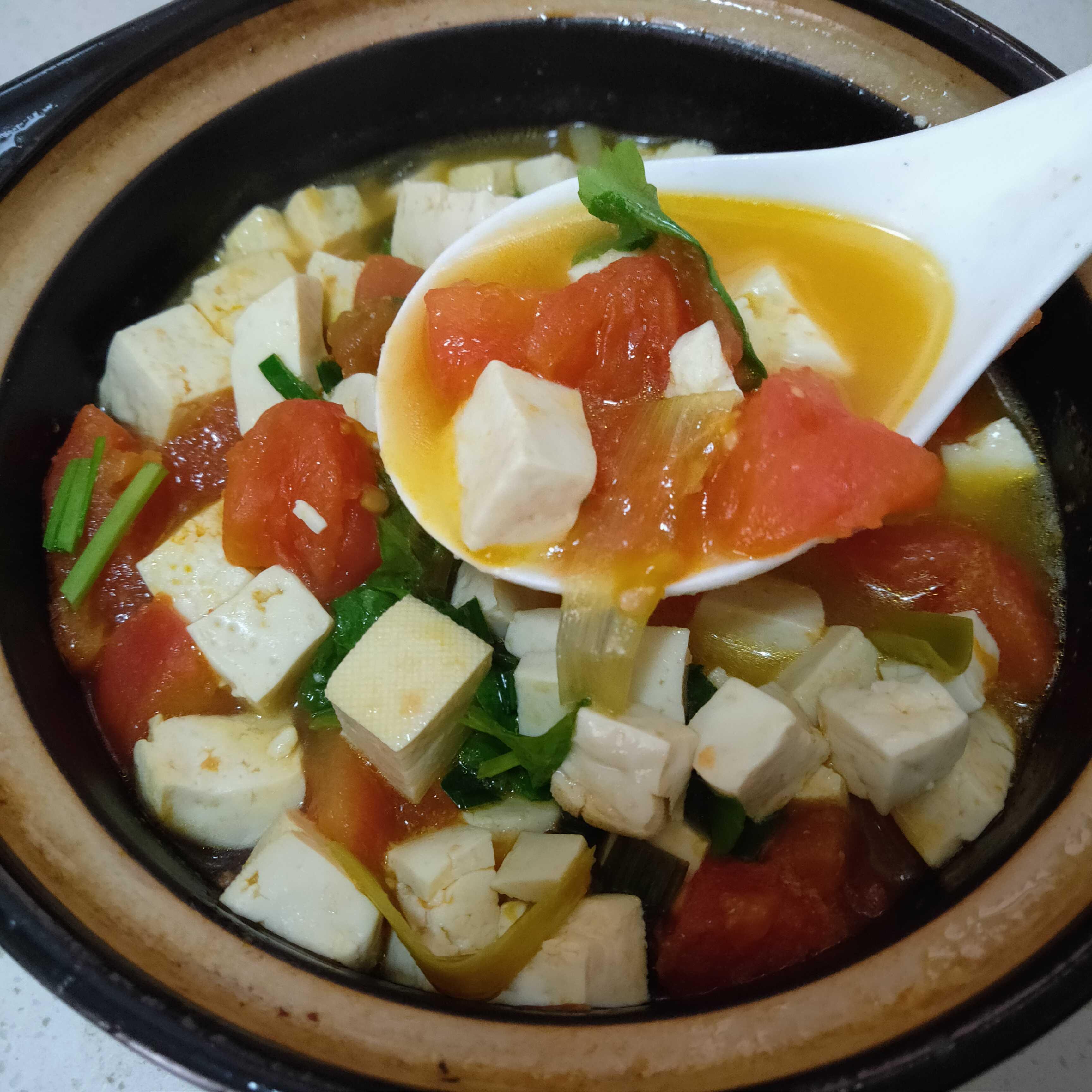 番茄豆腐汤怎么煮
