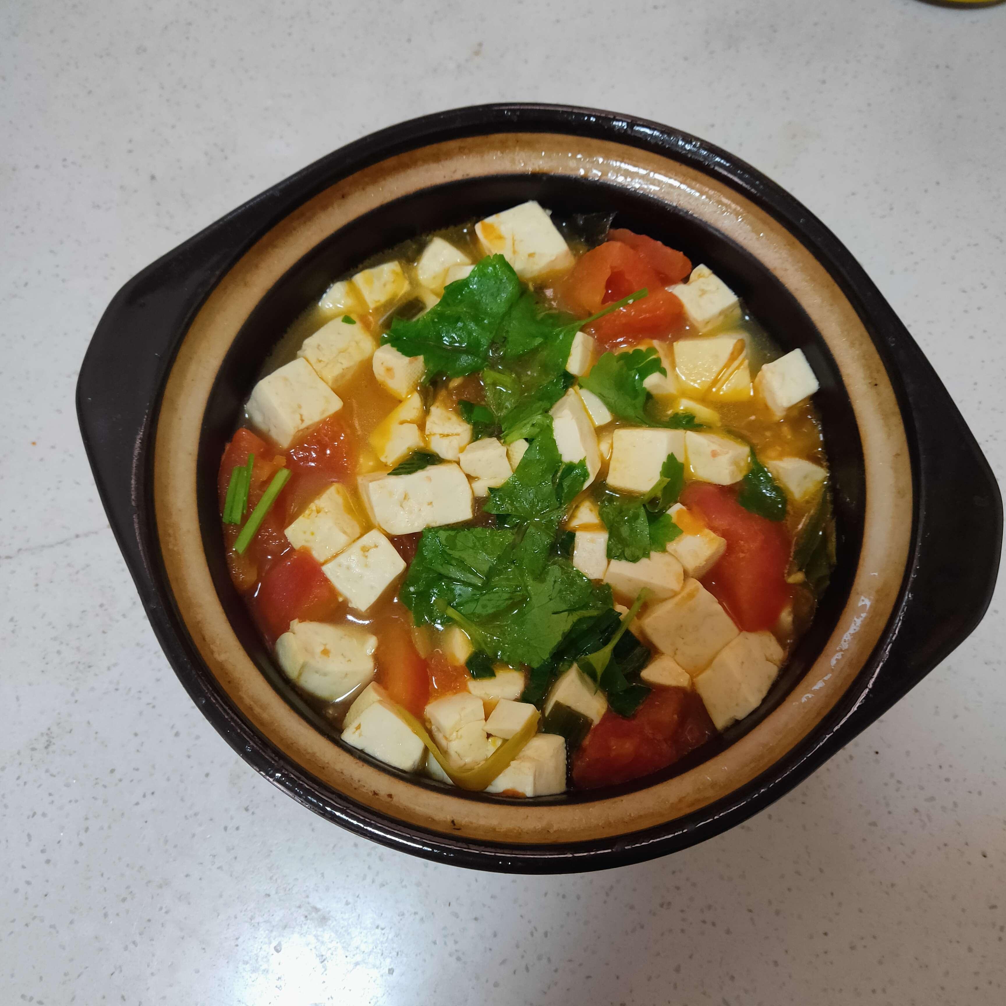 番茄豆腐汤怎么炖