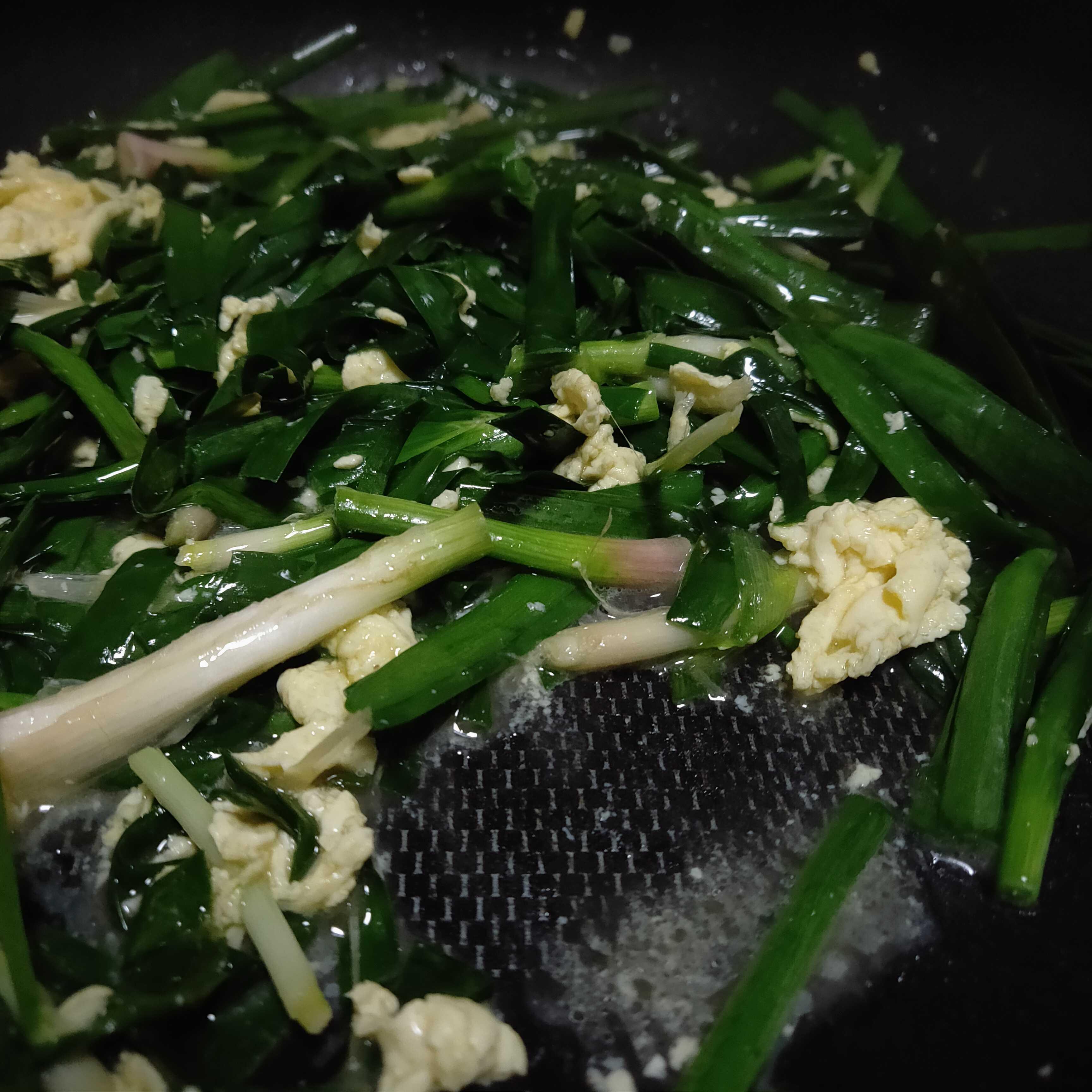 炒韭菜的简单做法