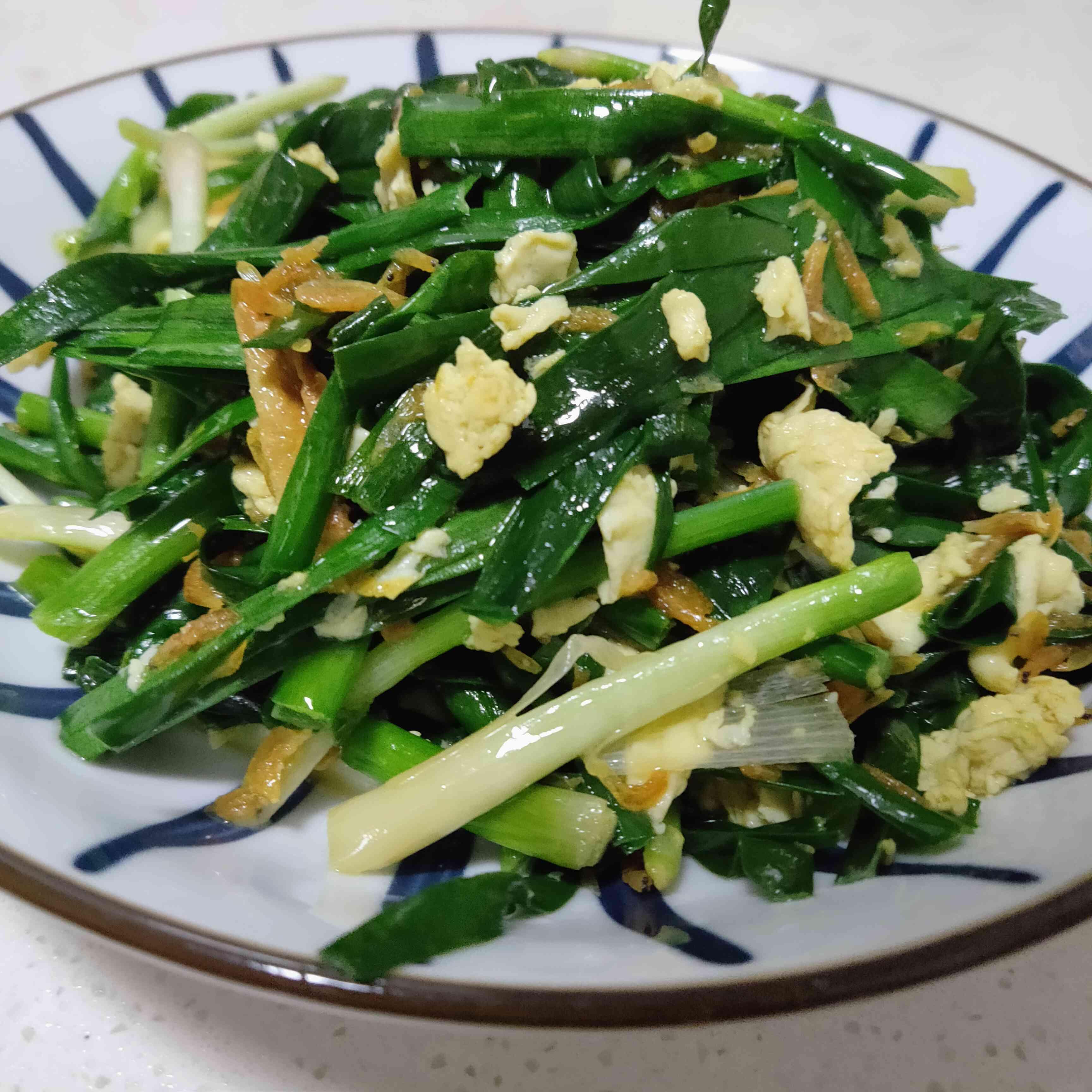 炒韭菜怎么炒