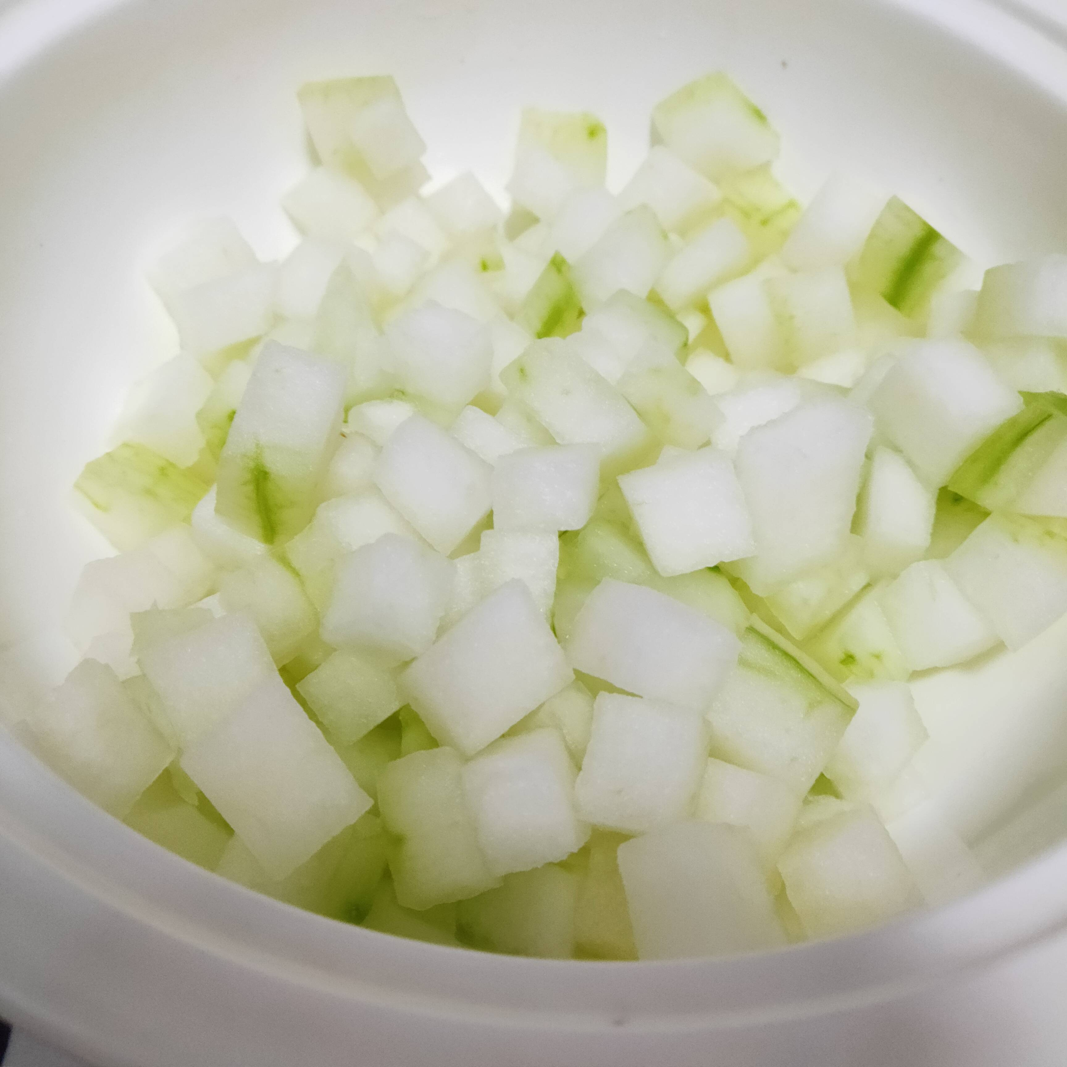 冬瓜虾米汤的做法图解