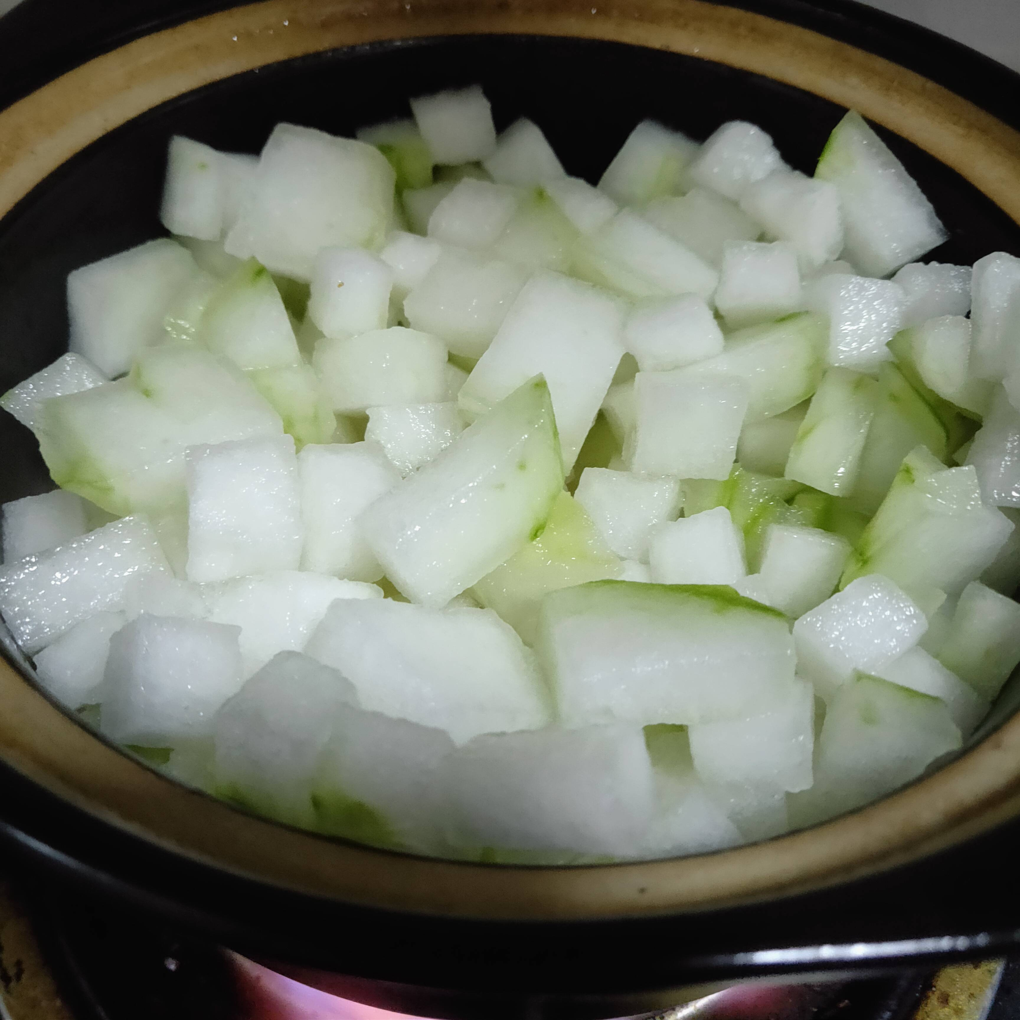 冬瓜虾米汤的简单做法
