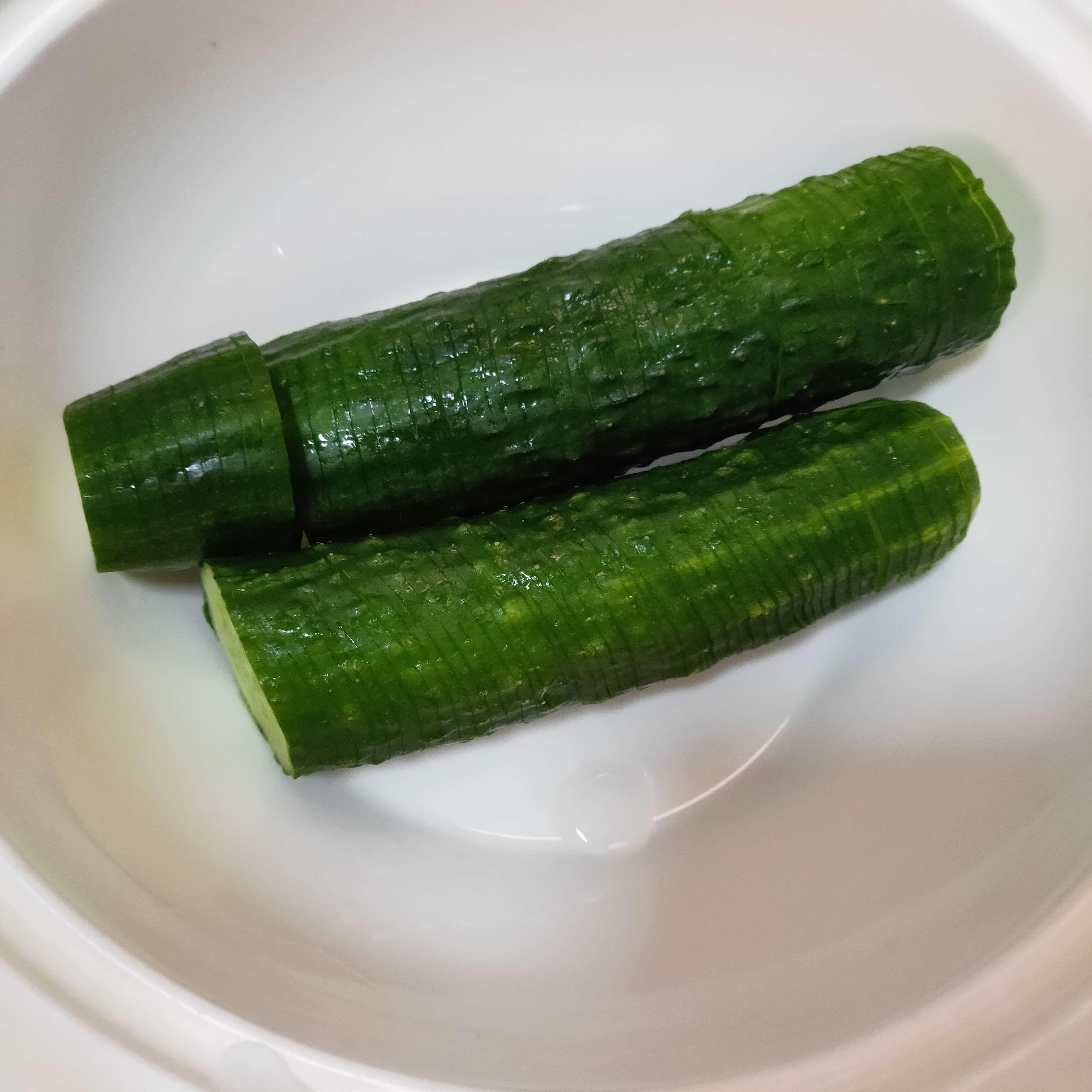 凉拌黄瓜的做法图解