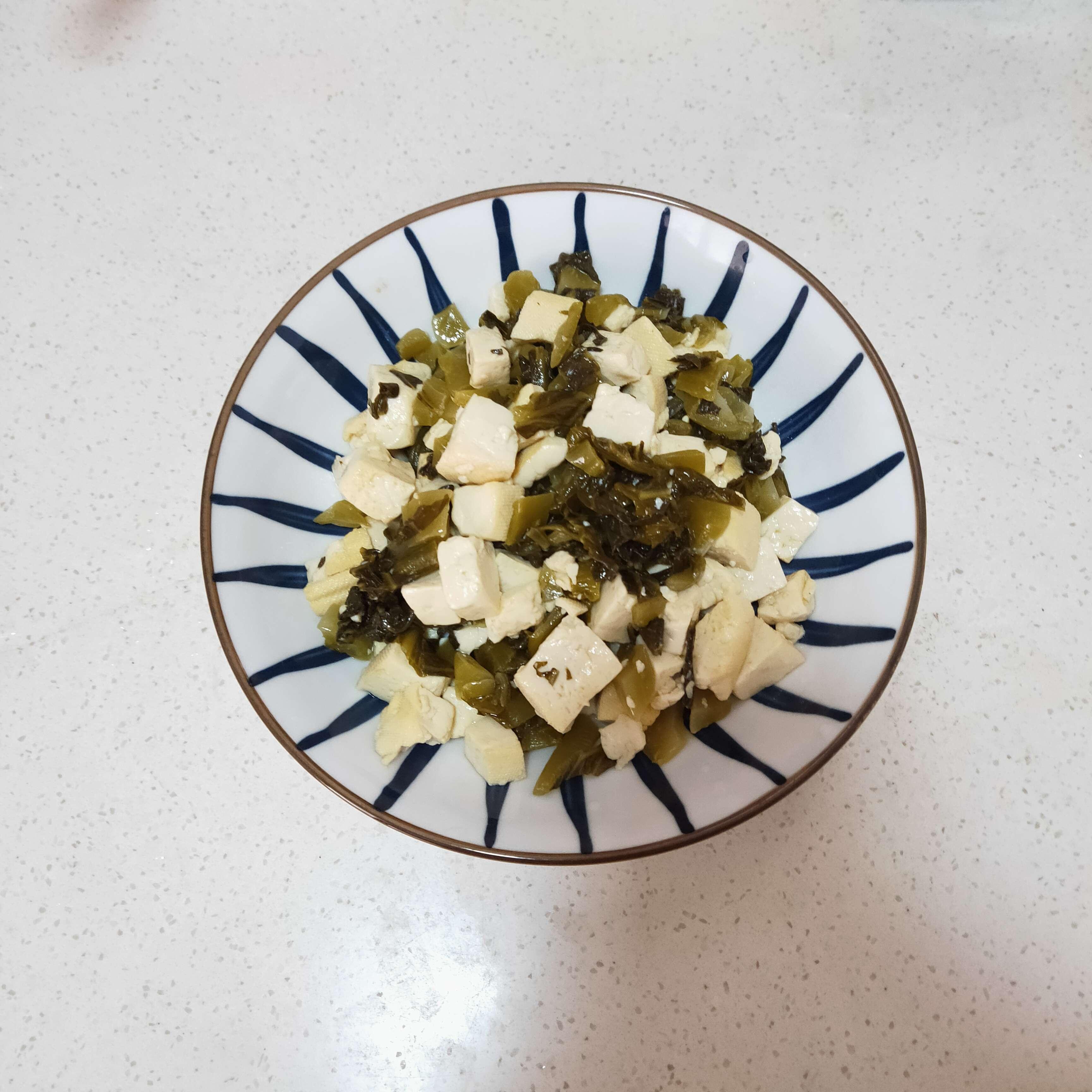 酸菜炒豆腐怎么做