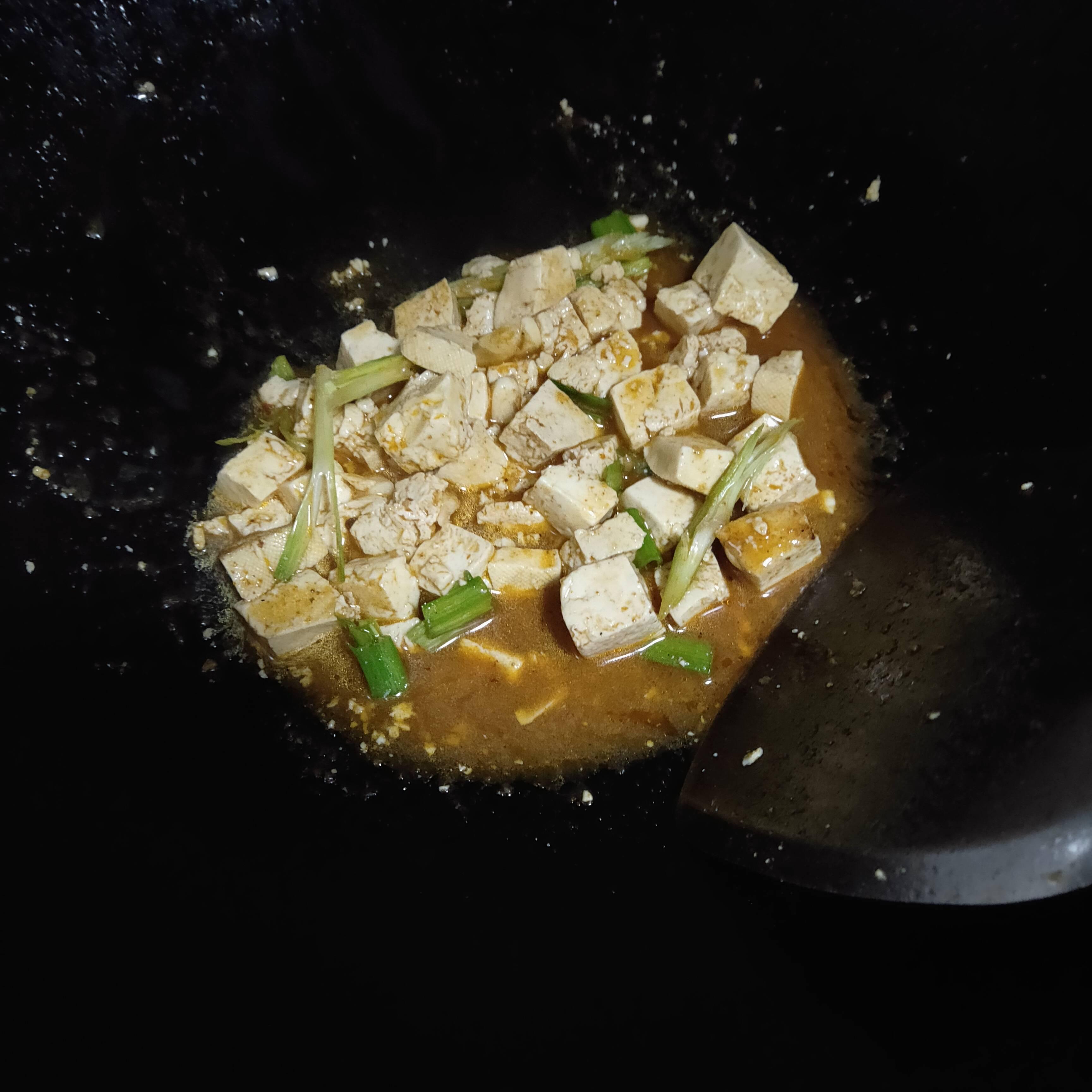 麻辣冻豆腐怎么吃