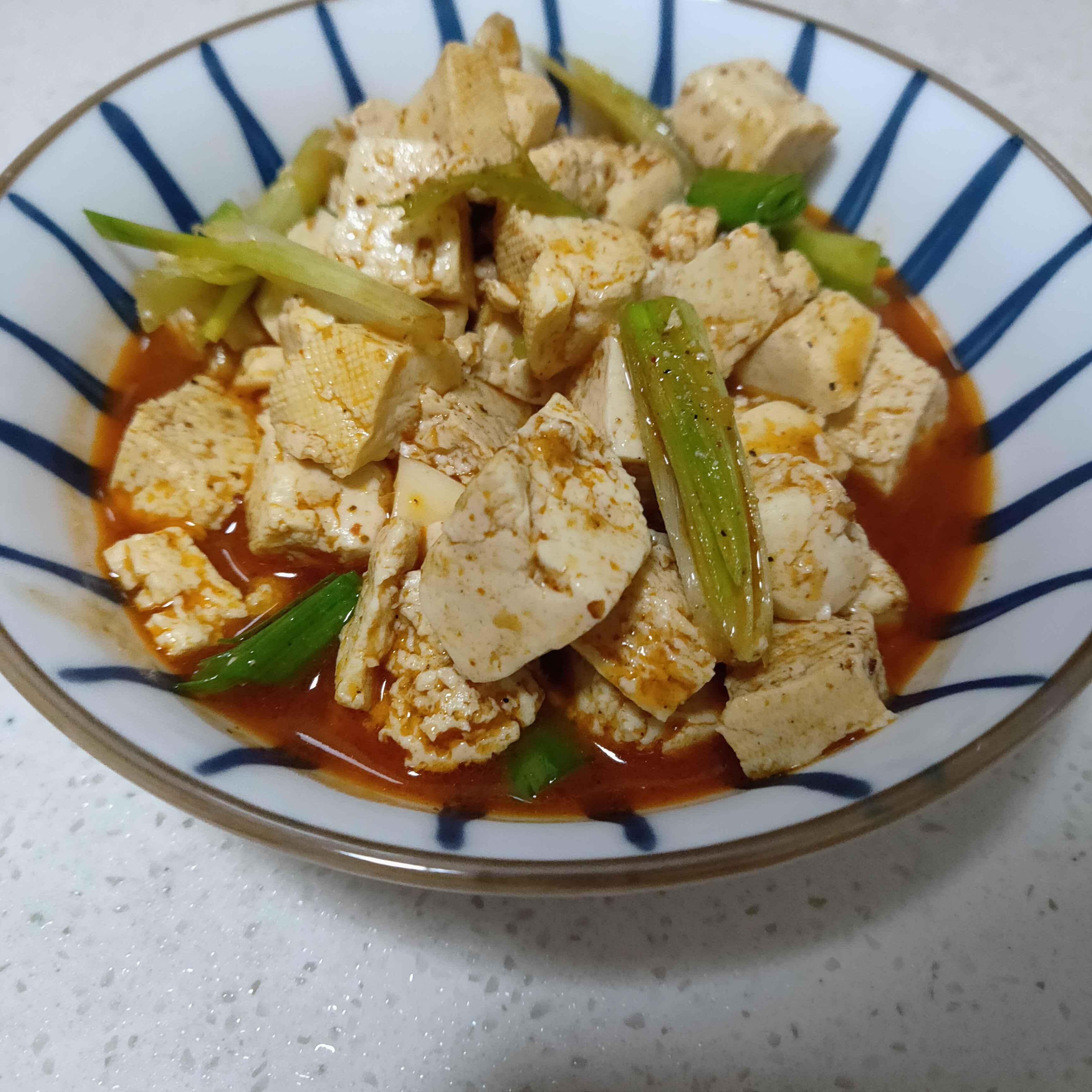 麻辣冻豆腐怎么炒