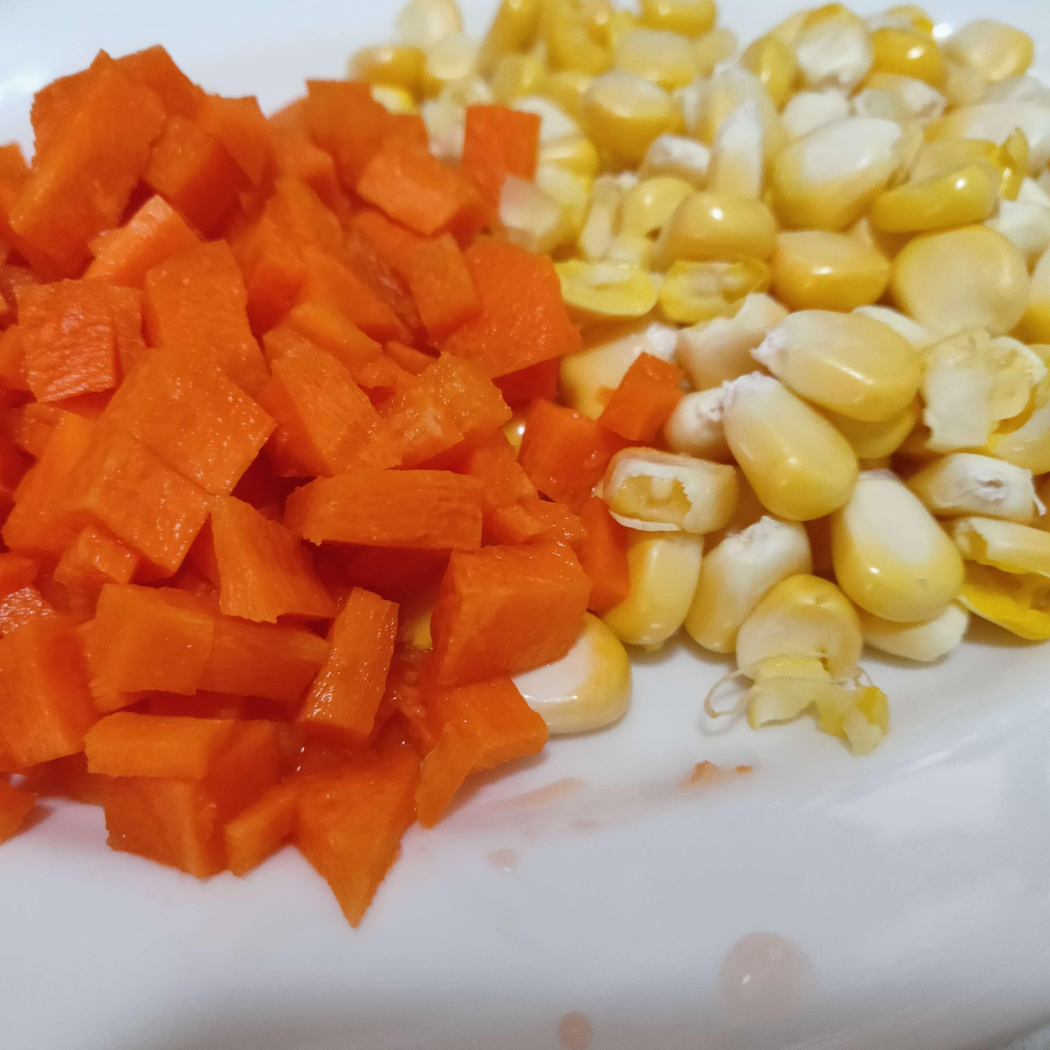 胡萝卜玉米粒的做法大全