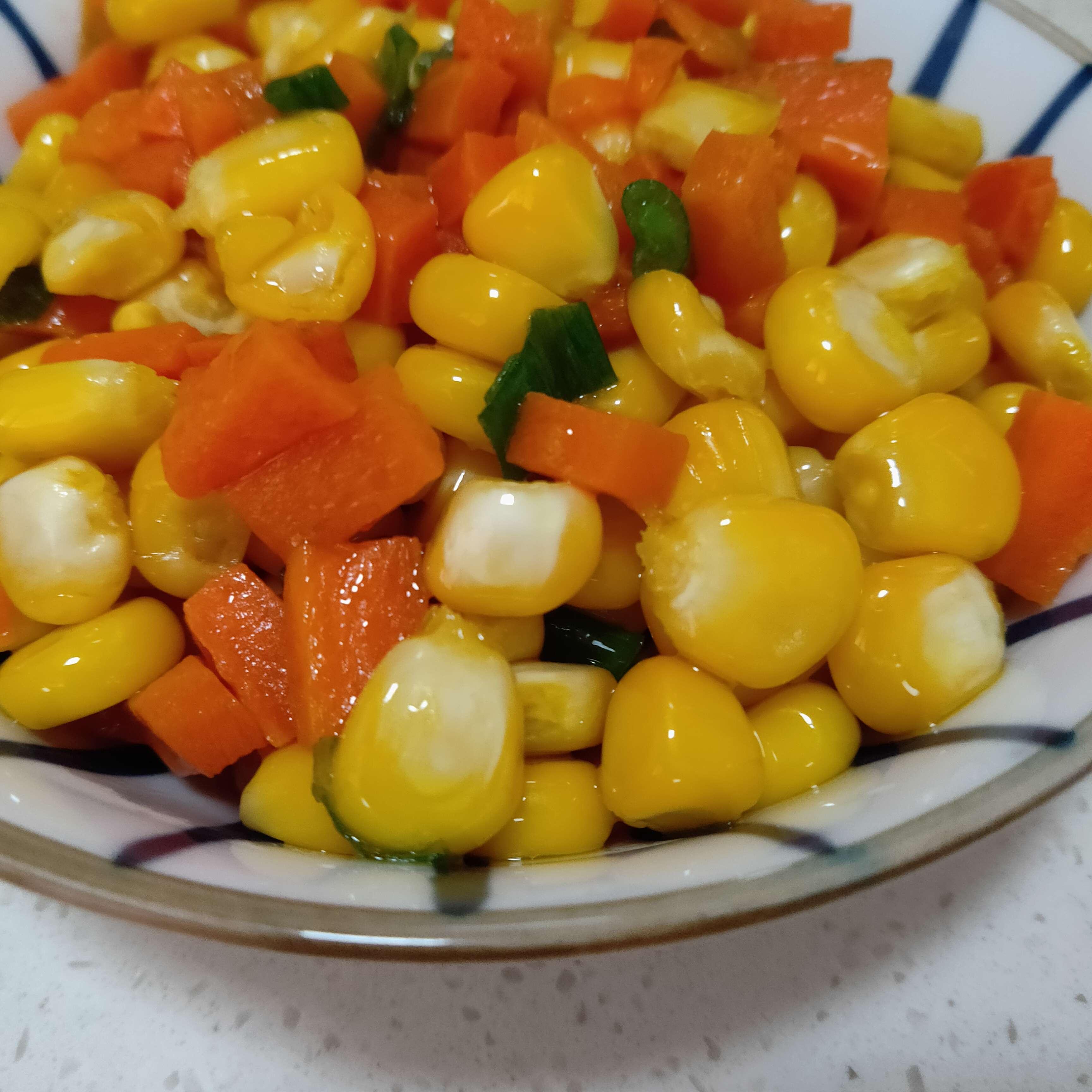 胡萝卜玉米粒怎么煮