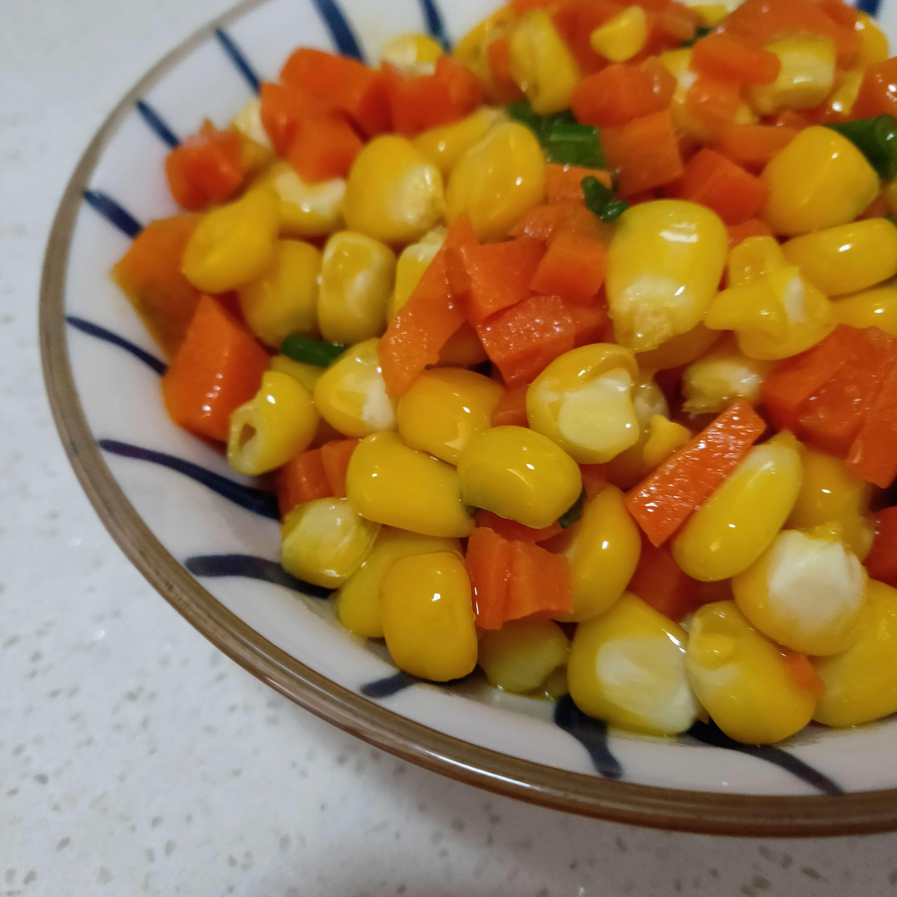 胡萝卜玉米粒怎么炖