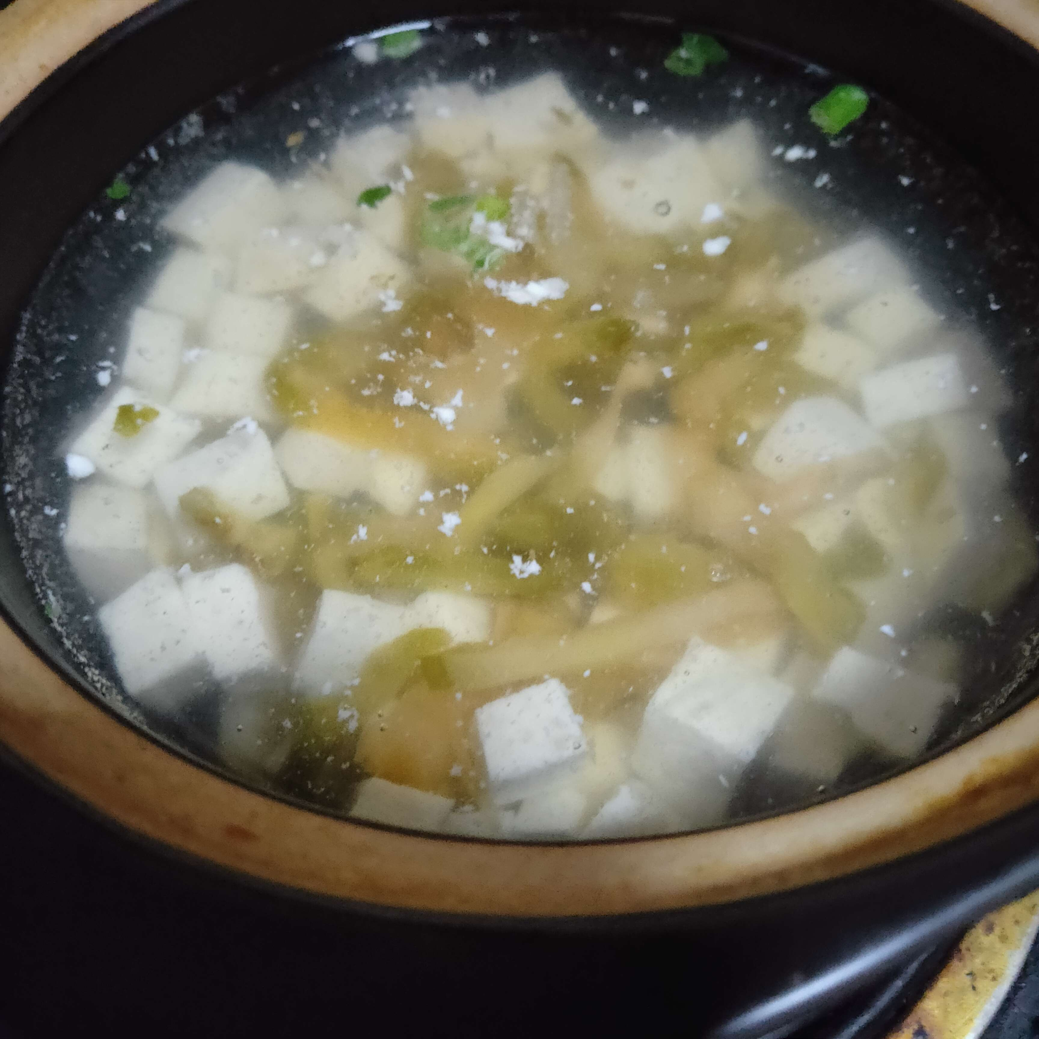 榨菜豆腐瘦肉汤的做法图解