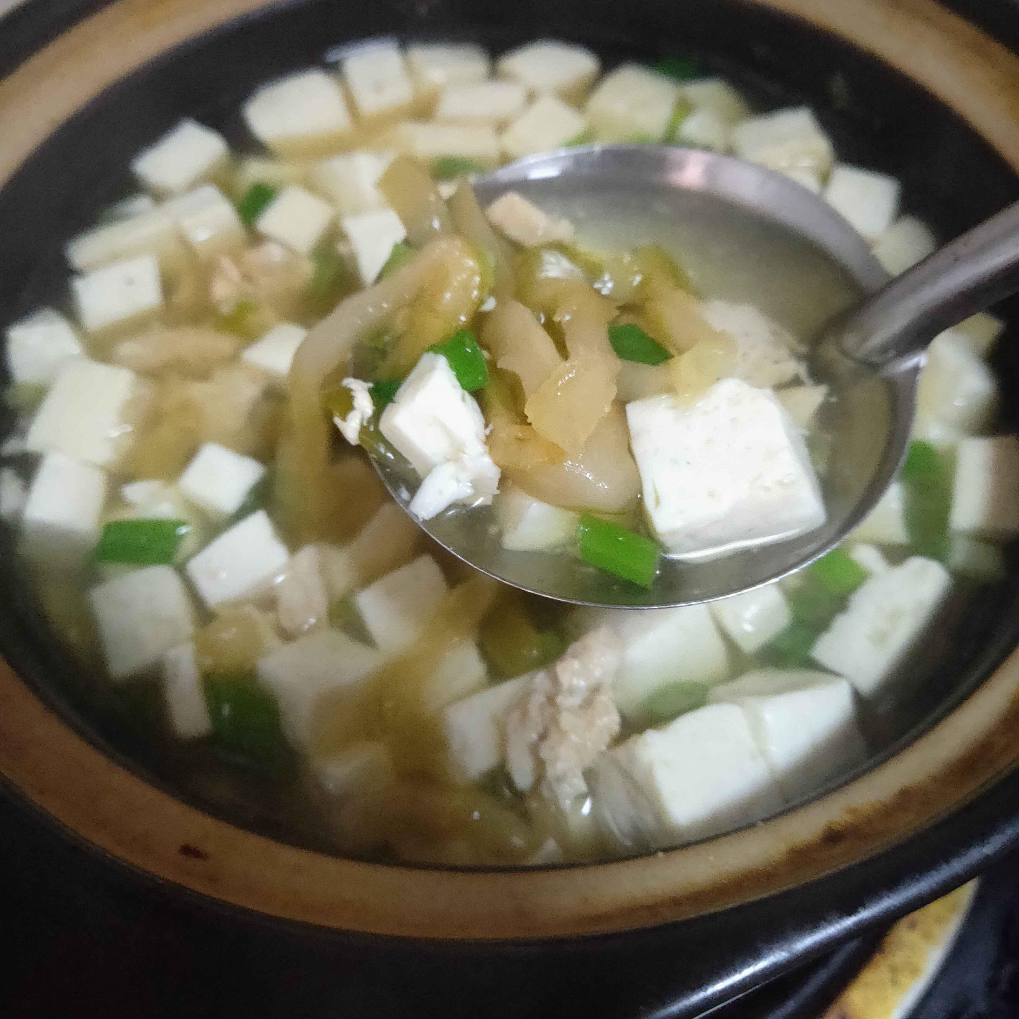榨菜豆腐瘦肉汤怎么做