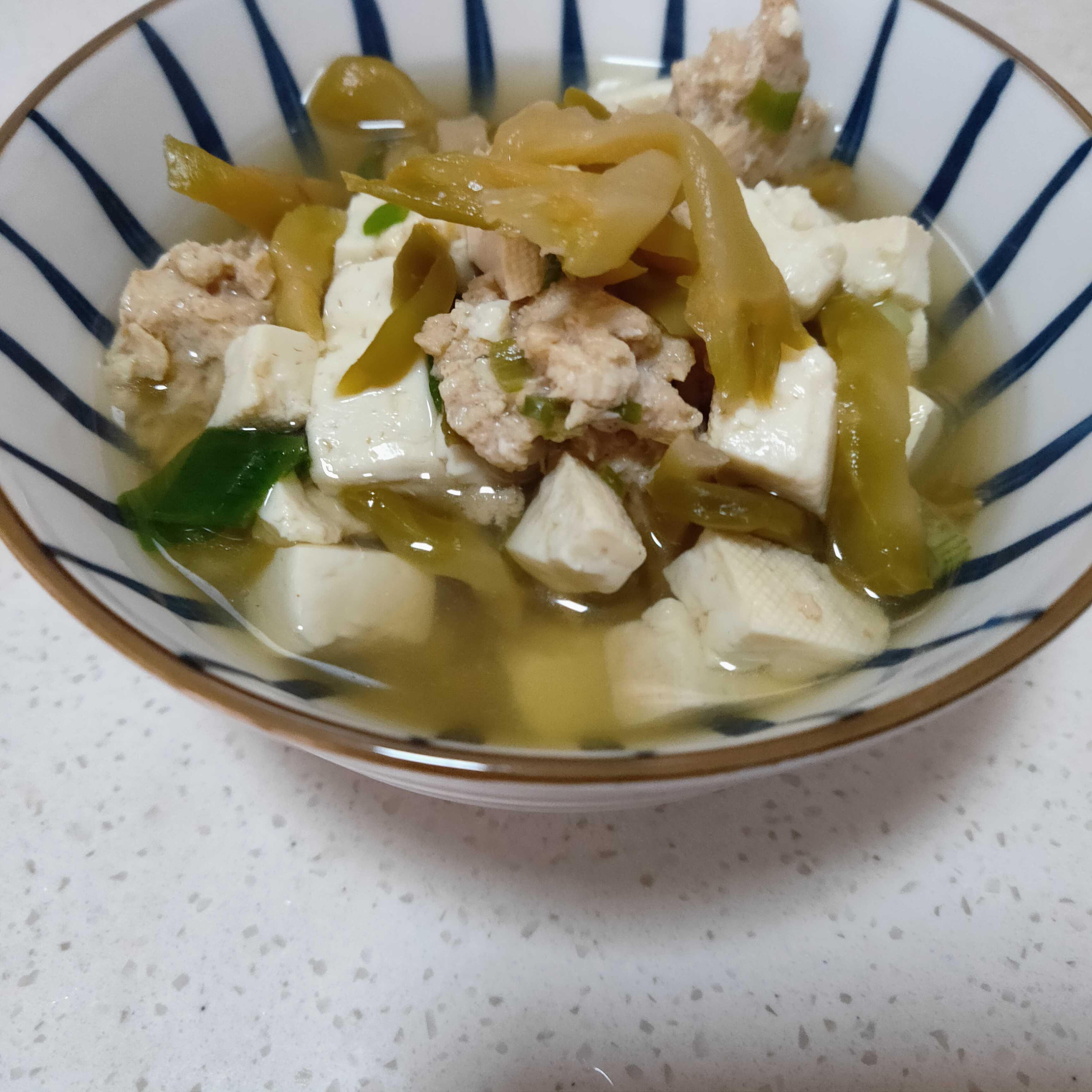 榨菜豆腐瘦肉汤怎么炒