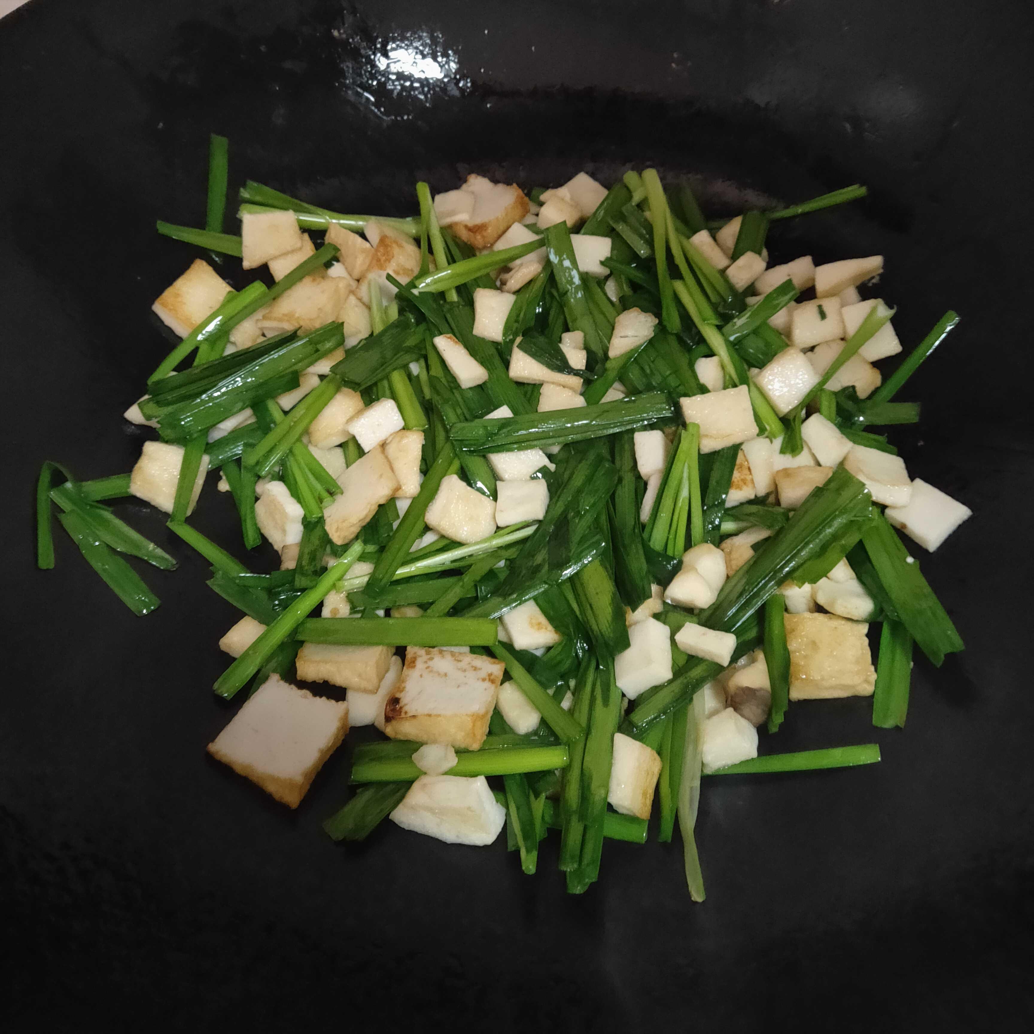 韭菜炒粉丝的做法图解