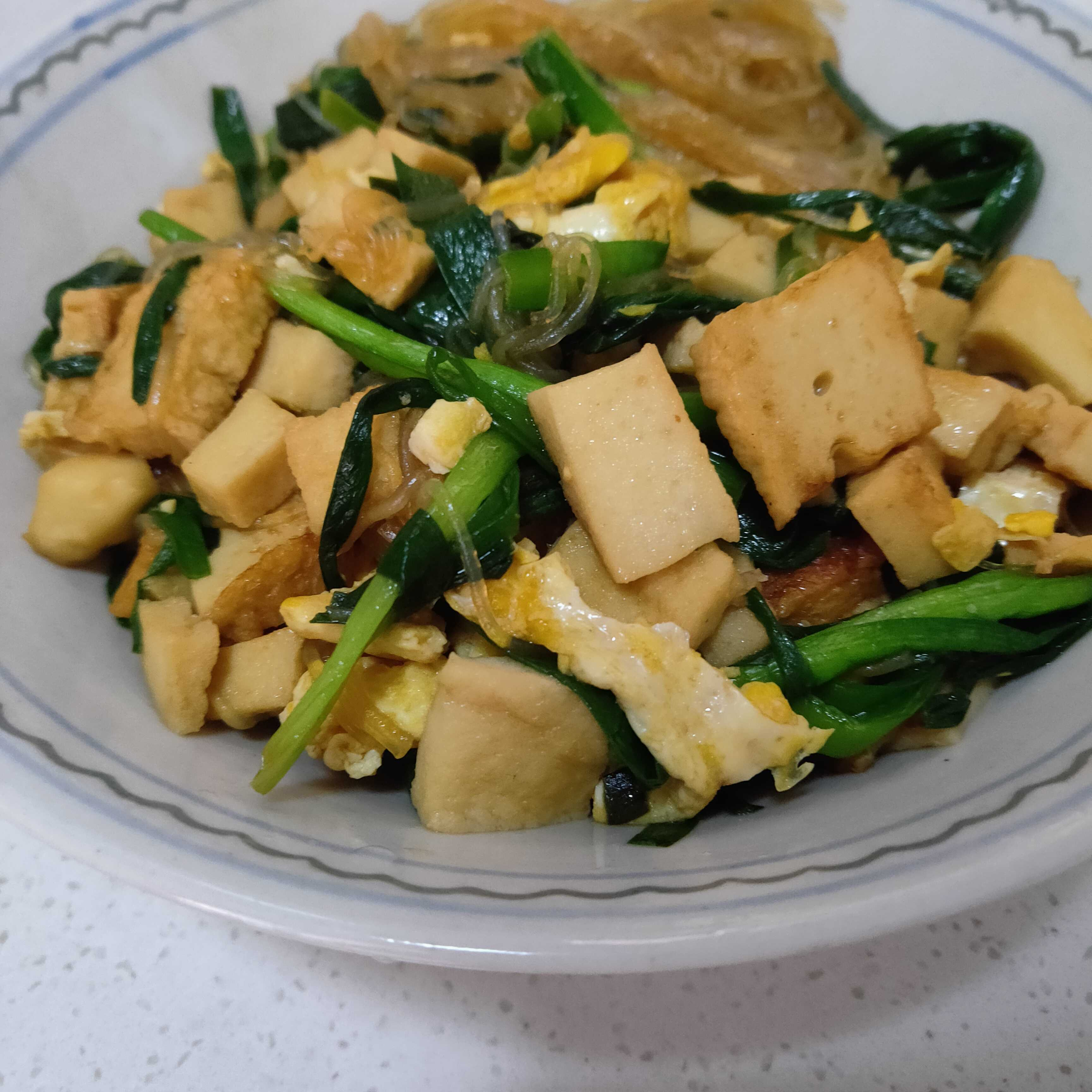 韭菜炒粉丝怎么煮