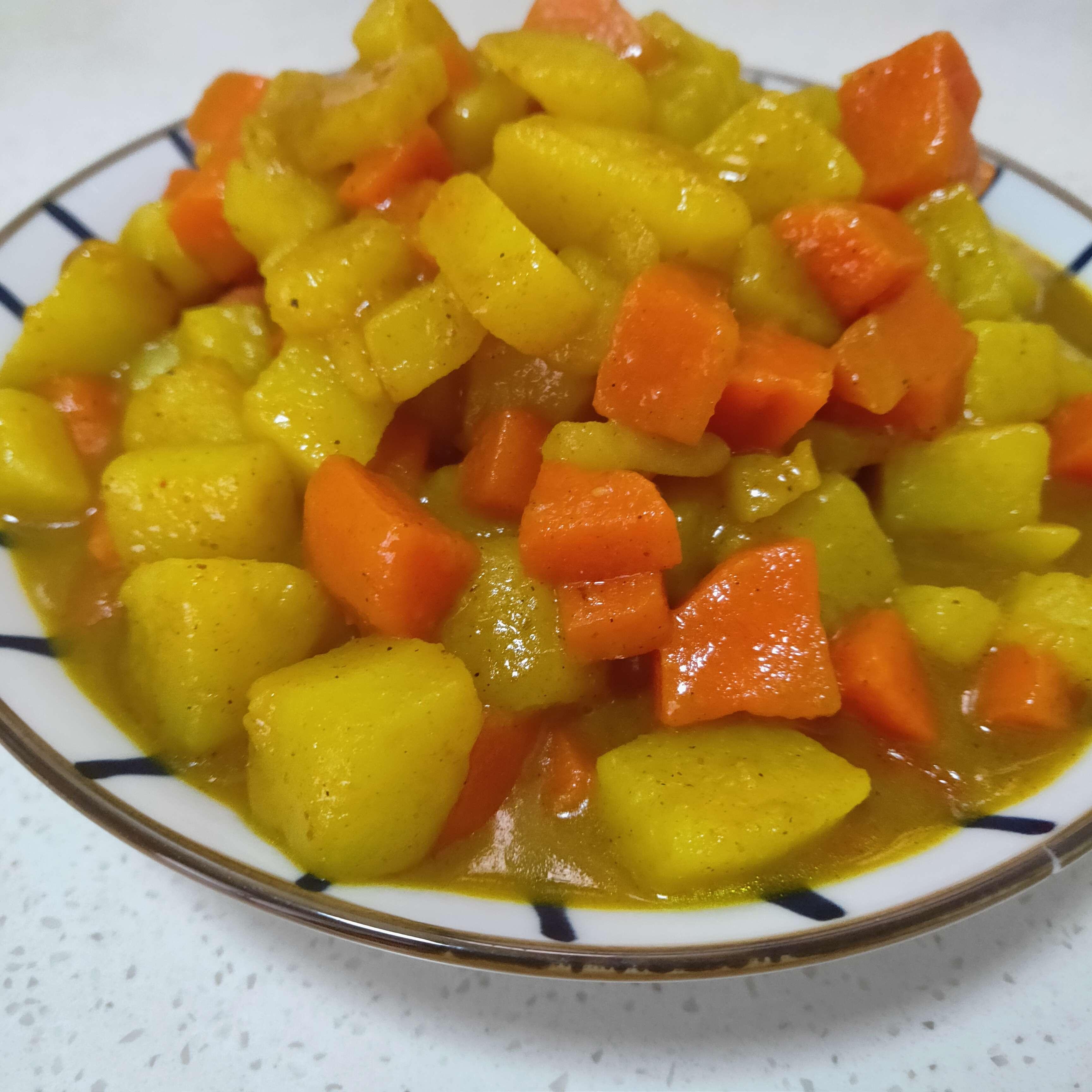 咖喱炖胡萝卜土豆怎么做