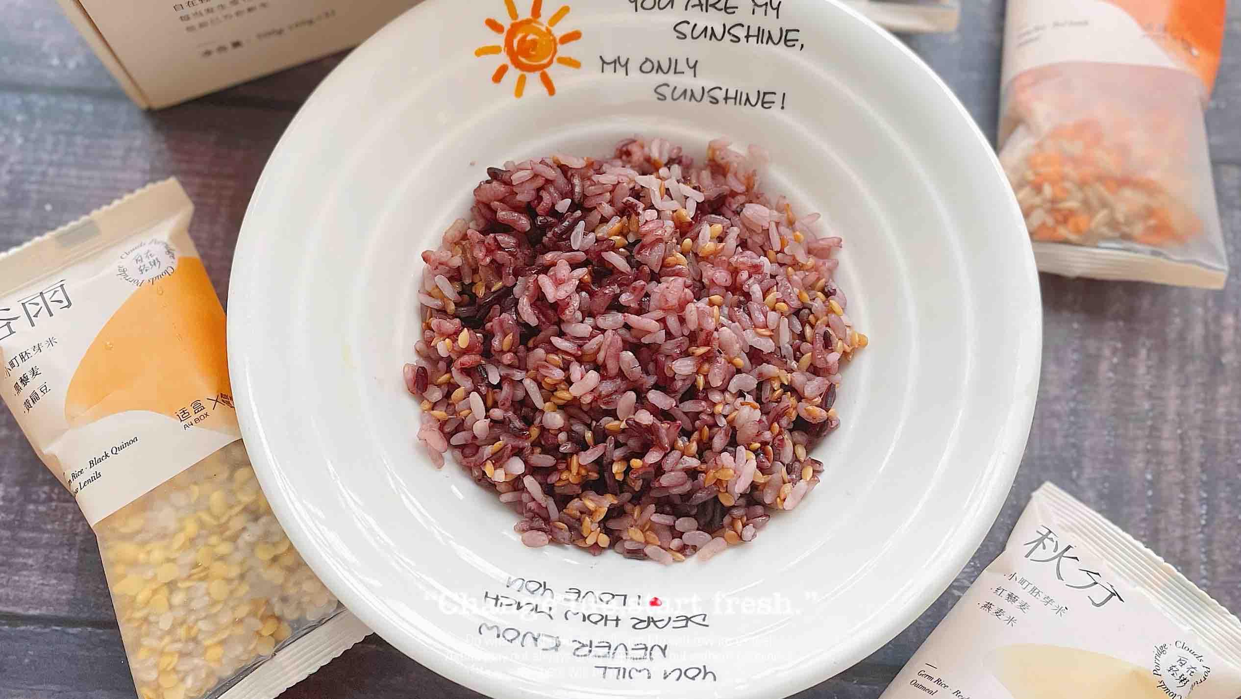 全谷物米饭成品图
