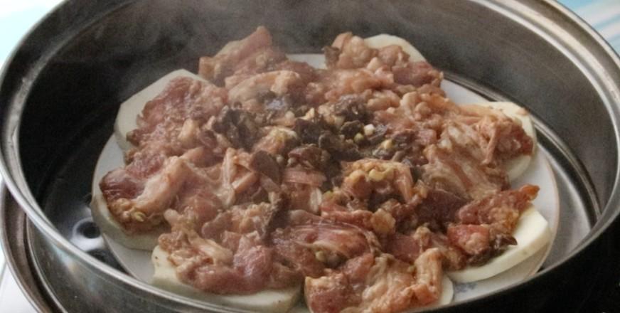 红薯蒸五花肉怎么煮