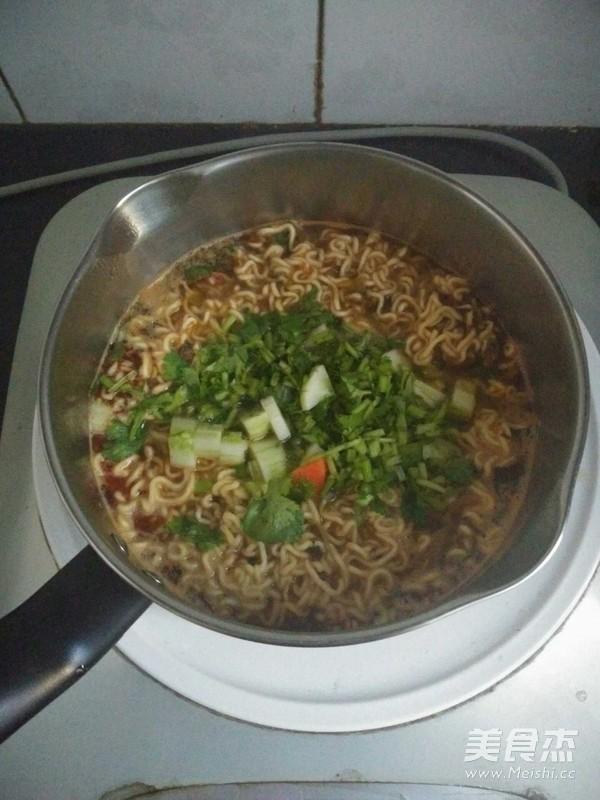煮方便面的家常做法