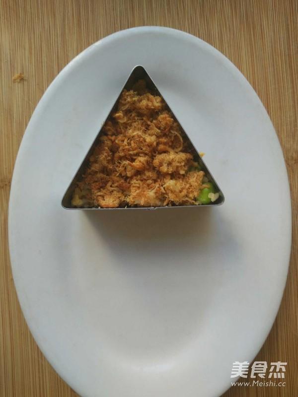 肉松饭团的家常做法