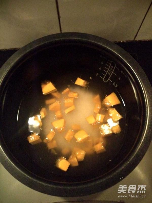 大米南瓜粥的做法图解