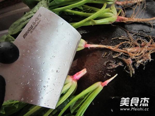 菠菜猪肝汤的做法图解