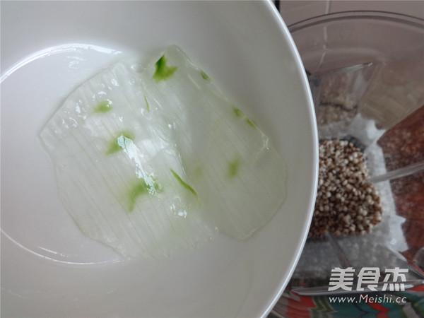 芦荟薏米汁的步骤