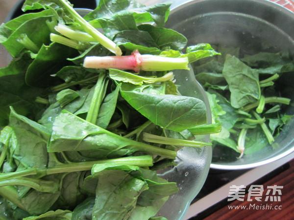 菠菜猪肝汤的简单做法