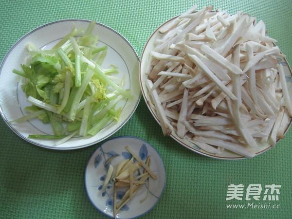 杏鲍菇炒肉丝的做法图解