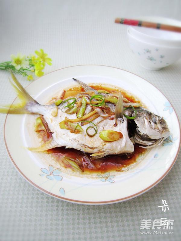 清蒸金鲳鱼怎么炖