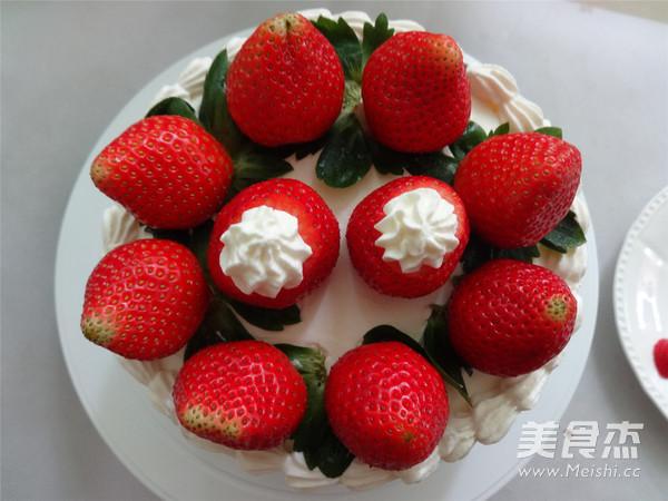 草莓奶油蛋糕怎样做